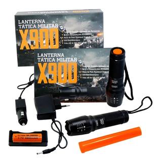 Compre 2 Lanterna Tática X900 Profissional Led T6- Promoção