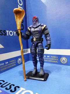 Gijoe - Cobra Commander V13 Báculo Y Base