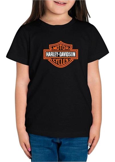 Playera Harley Davidson Niña