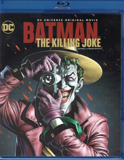 Batman The Killing Joke La Broma Mortal Pelicula Blu-ray