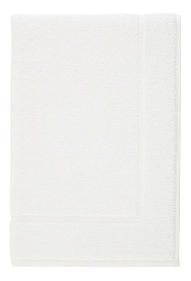 Tapete Para Piso 100% Algodão Karsten 48x70cm Branco