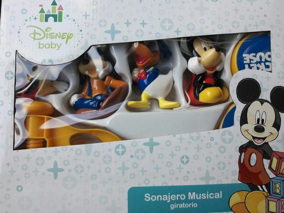 Mobile Musical Berço Mickey Baby