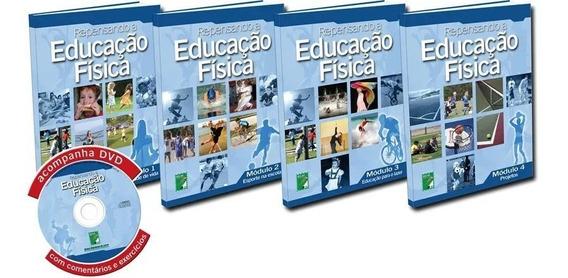 Coleção Repensando A Educação Física 4 Livros + Dvd