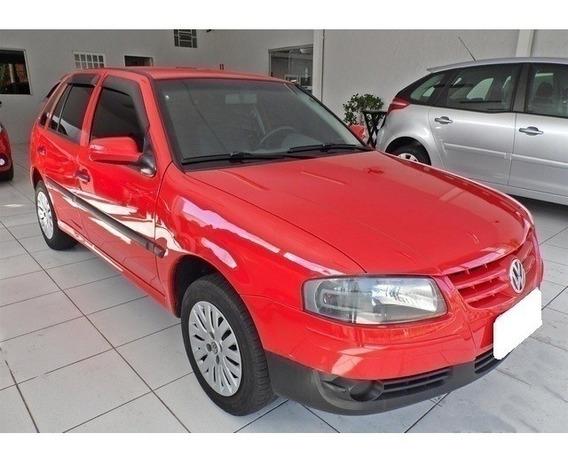Volkswagen Gol G.iv 1.0 Vermelho Flex 4p Manual 2009