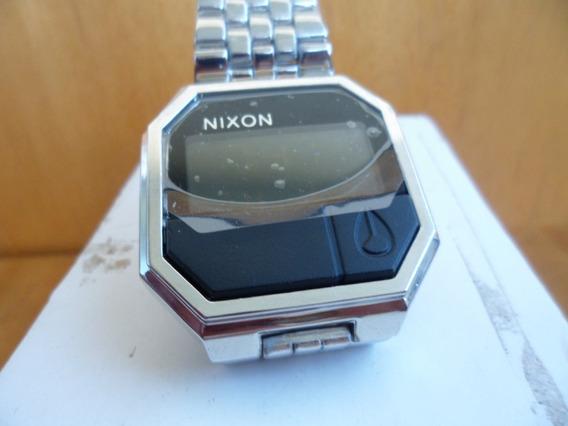 Relógio Nixon Rubber Re Run Prateado