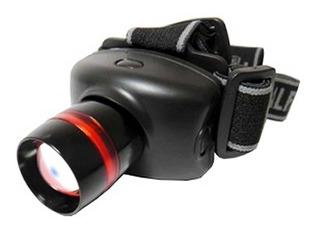 Lanterna Tática De Cabeça. Led Cree Zoom 500w Foco Ajustável