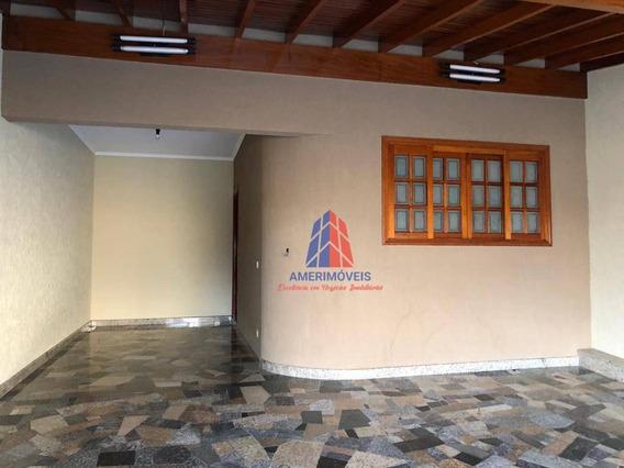 Casa Com 3 Dormitórios À Venda, 115 M² Por R$ 450.000 - Residencial Boa Vista - Americana/sp - Ca1015