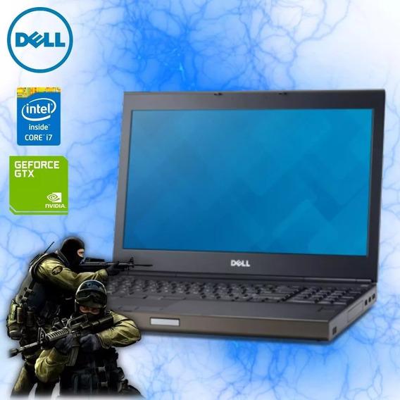 Notebook Dell Precision I7 8gb 500gb Com Placa De Video
