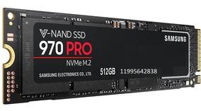 Ssd 512gb Samsung 970 Pro M.2 Pcie Lacrado Em 12xsem Juros