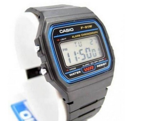Relógio Casio Digital Esportivo F91w1cr