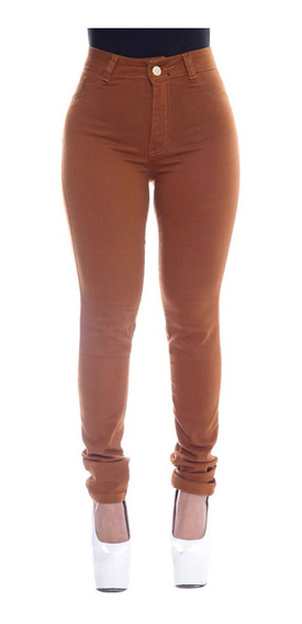 Kit 3 Calça Jeans Cintura Alta Hot Pants Com Lycra Oferta