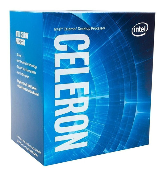 Processador Intel Celeron G4900 Coffee Lake, Cache 2mb, 3.1g