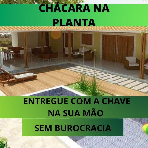 S.g Adquira Ja Sua Chácara Na Planta, Direto Com O Dono !!!