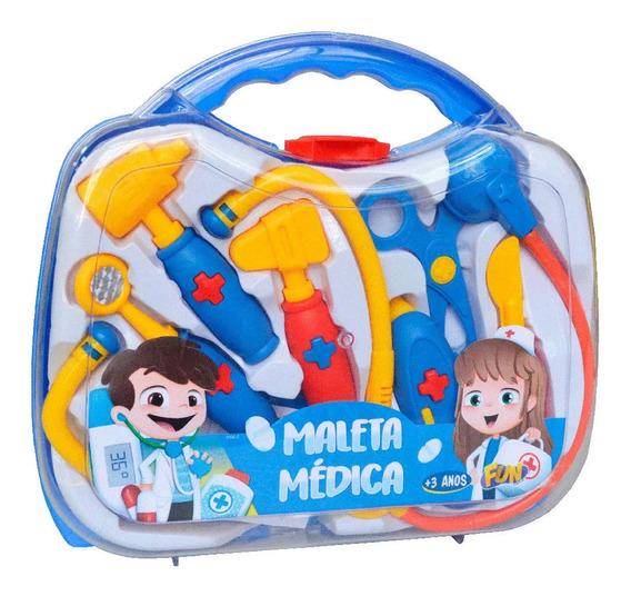 Conjunto De Acessórios - Maleta Médica - Fun