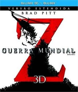 Filme Guerra Mundial Z (blu-ray 3d + Blu-ray)