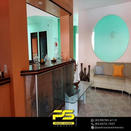 Casa Com 5 Dormitórios À Venda, 550 M² Por R$ 690.000,00 - Praia Formosa - Cabedelo/pb - Ca0736