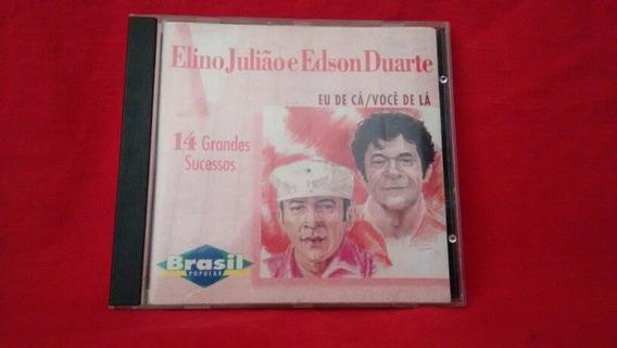 Cd Elino Julião E Edson Duarte-brasil Popular
