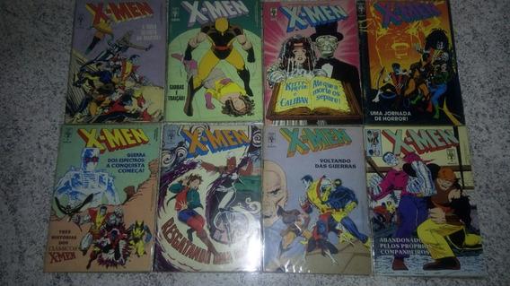 X-men Editora Abril Coleçao Completa + Encadernado De Brinde