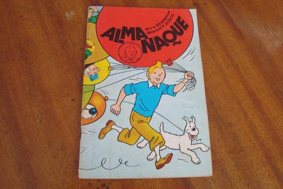 Gibi Publipress / Tintin Almanaque 1 (1983) Urso Com Cornos
