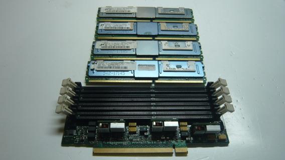 Kit 32gb 4x8 Ddr2 Para Servidor + Expansor De Memoria!!!
