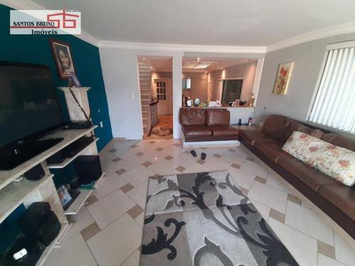 Sobrado Com 4 Dormitórios À Venda, 400 M² Por R$ 880.000,00 - Freguesia Do Ó - São Paulo/sp - So0983