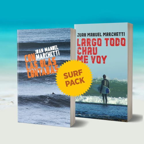 Imagen 1 de 1 de Pack Surf  Largo Todo, Chau, Me Voy  + Con Las Olas Contadas