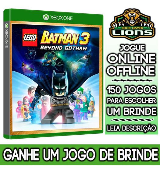 Lego Batman 3 Além De Gotham Edição Luxo Xbox One + Brinde