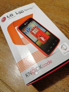 Celular LG-d227 L50 Sporty Dual En Impecables Condiciones