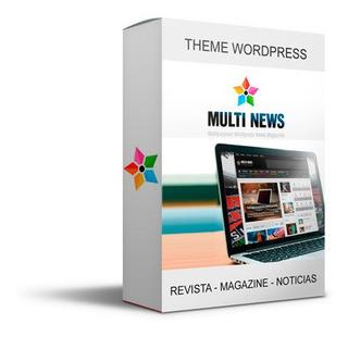 Theme Wordpress Multinews Magazine Noticia Revista