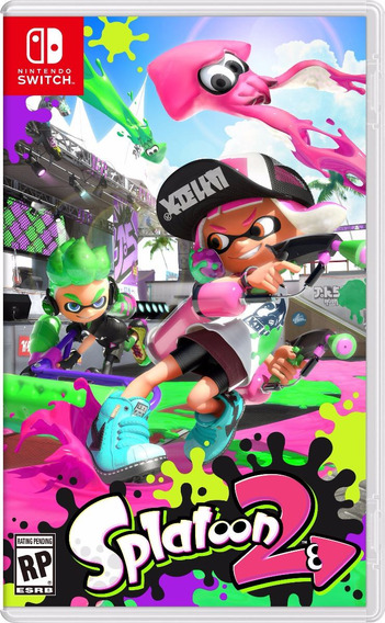 Splatoon 2 Switch Midia Fisica