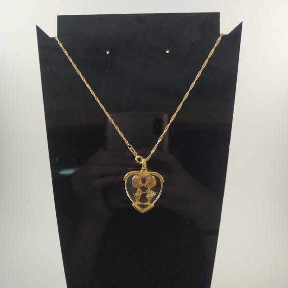 Colar Casal - Folheado Ouro 18k
