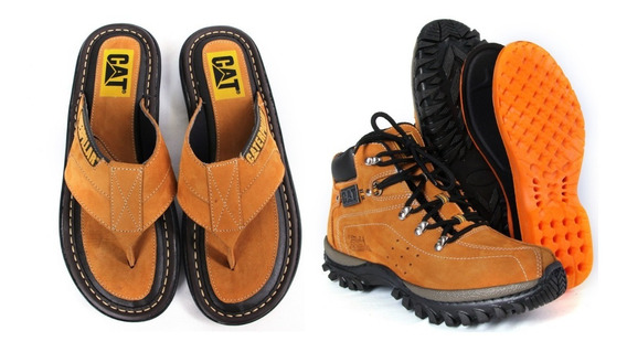 Bota + Chinelo Caterpillar Adventure Original