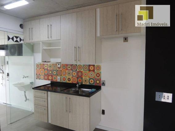 Apartamento Com 1 Dormitório À Venda, 70 M² Por R$ 640.000 - Locação R$ 2.700,00 Vila Leopoldina - São Paulo/sp - Ap1377