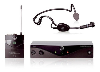 Microfone Sem Fio Akg Perception Headset Sport Set Pw-45