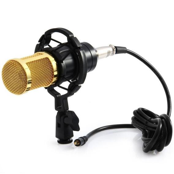 Microfone Estúdio Profissional Condensador Youtuber Original