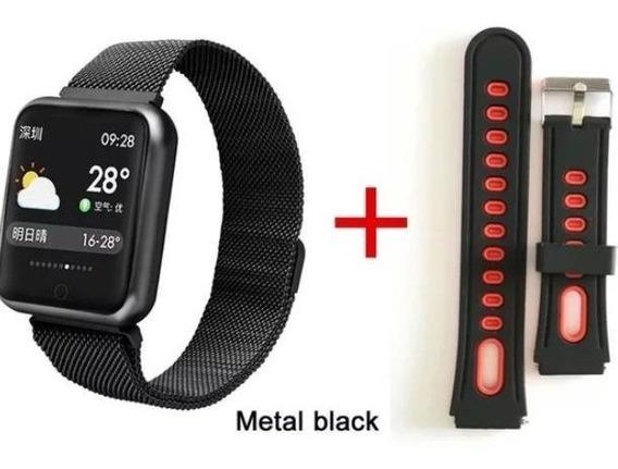 Smart Watch Relógio Inteligente P68 Sports Fitness+pulseira