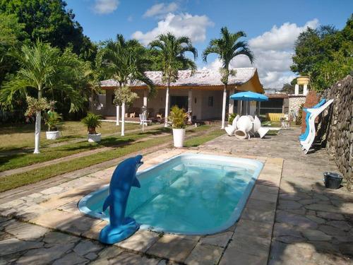 Casa Em Aldeia Dos Camarás, Camaragibe/pe De 300m² 5 Quartos À Venda Por R$ 480.000,00 - Ca849306