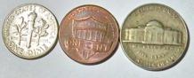 Usa:lote 3 Monedas Años 1964/67/2011- Miralas!!