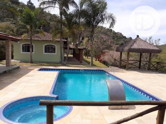 Chácara Com 3 Dormitórios À Venda, 5000 M² Por R$ 680.000 - Arataba - Louveira/sp - Ch0170