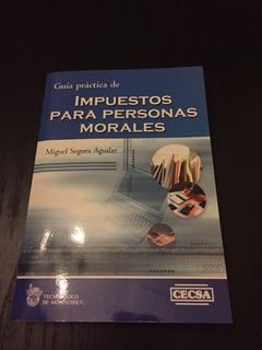 Impuestos Para Personas Morales