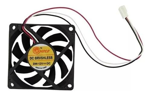 Fan Cooler Extractor Ventilador 6cm 60mm  Pc Case Pack De 6