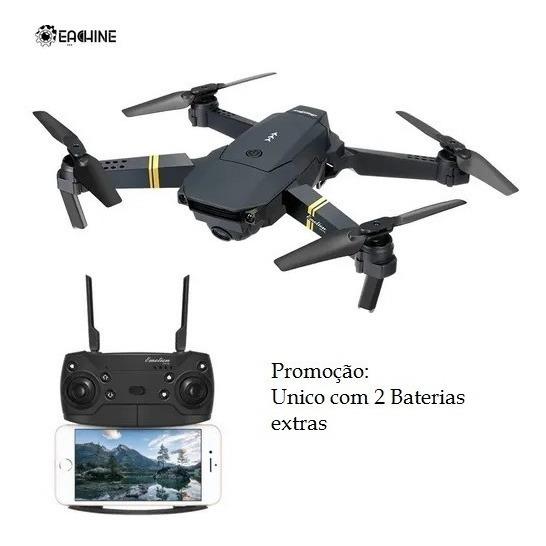 Drone Eachine E58 2 Bateria Extra Com Câmera X Visuo X Jjrc
