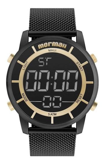 Relógio Mormaii Masculino Ref: Mobj3463bb/4p Digital Preto