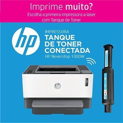 Impressora Hp 1000w Neverstop Tanque De Toner - Wifi