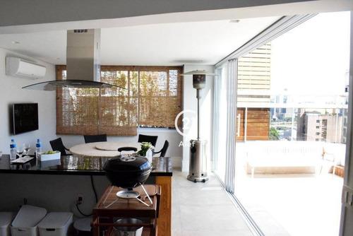 Cobertura Com 3 Dormitórios À Venda, 375 M² Por R$ 2.000.000,00 - Real Parque - São Paulo/sp - Co0996