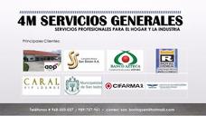 Servicios Generales: Computadoras, Electricidad, Melamina, E