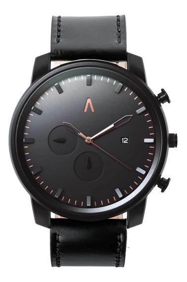 Reloj Hombre Elegante Sumergilble Negro Eelegante Abaco