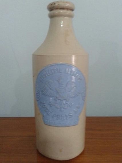 Antigua Botella De Gres Cerveceria Alemana Jose Preis