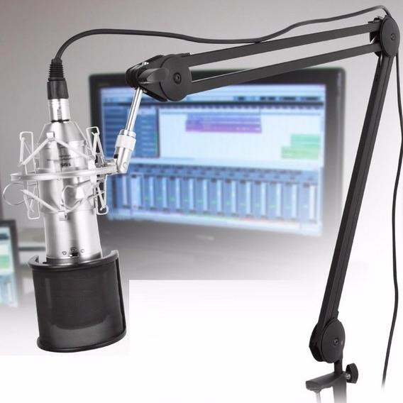 Superlux - Suporte Articulado De Mesa P/ Microfone Hm 58 B