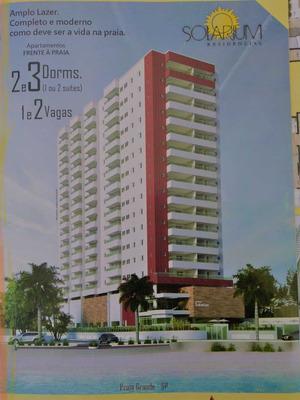 Apartamento 2 Dormitórios De Frente P/ O Mar